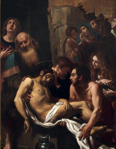 Baglione Deposizione di Cristo nel sepolcro