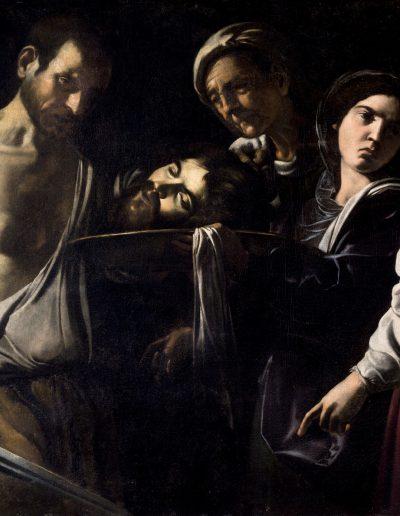 Caracciolo Salomè con la testa di Battista Siviglia