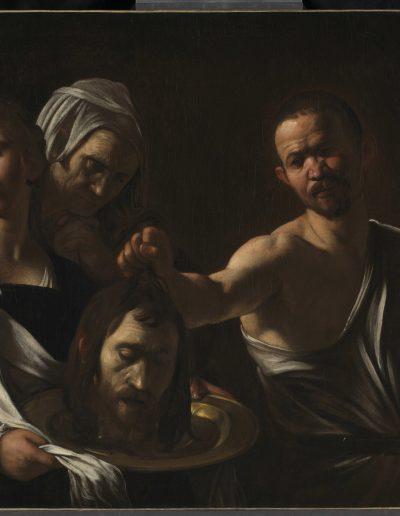 Caravaggio Salomè con la testa di Battista, Londra