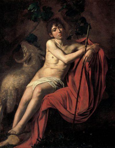 Caravaggio San Giovanni Battista
