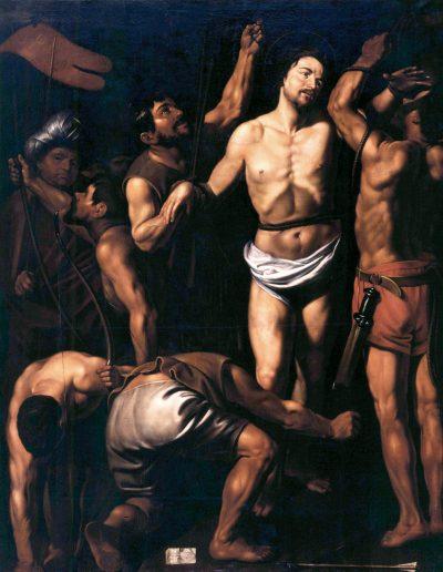 Finson Martirio di San Sebastiano
