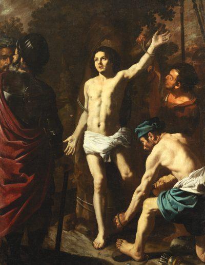 Hendrik de Somer Martirio San Sebastiano